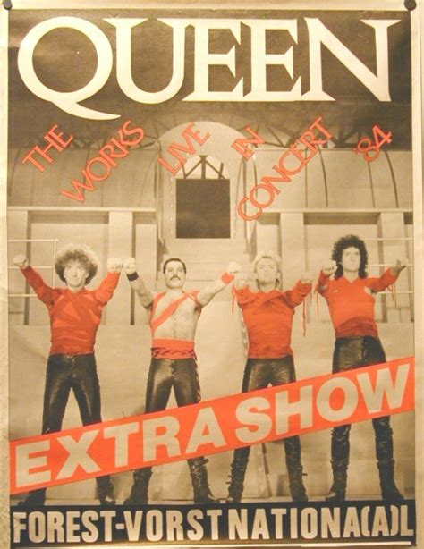 Poster Affiche Queen Freddy Mercury News of the World Album Cover Rock 80/'s