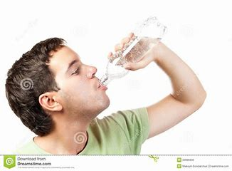 Image result for royalty free picture of sweating person with cold drink of water