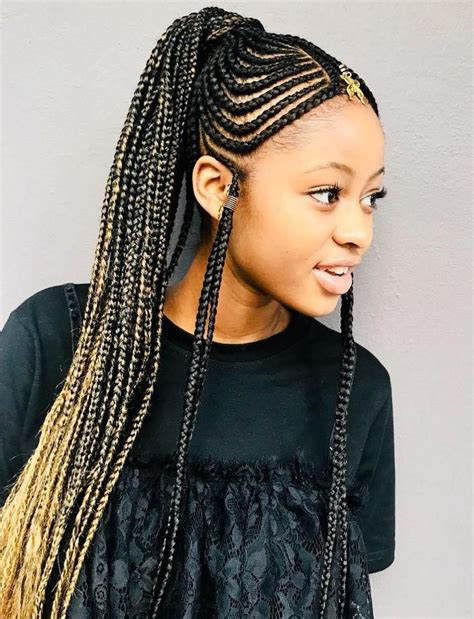 AMAZING FULANI BRAIDS FOR WOMEN OF ALL AGES IN