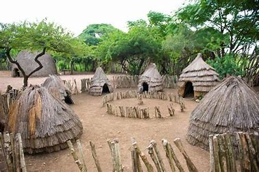 Image result for images traditional african tribal village