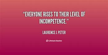 Image result for Peter Principle Apply to Everyone