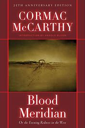 Image result for images book blood meridian
