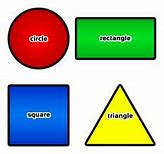 Image result for Simple Shapes Clip Art