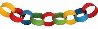 Image result for free to use picture of construction paper chain