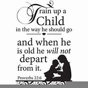 Image result for free pics of train up a child