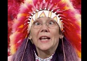 Image result for images of elizabeth warren pocahontas