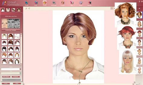 try out various haircuts and hairdos using these best
