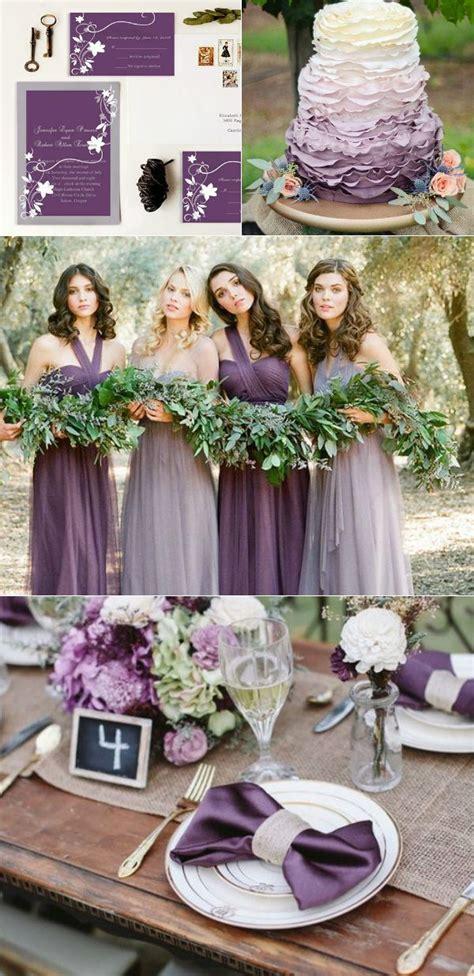 best purple plum lavender wedding images on
