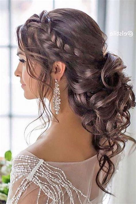 collection of curly hairstyles for weddings long hair