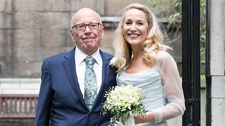 Image result for jerry hall and rupert murdoch images