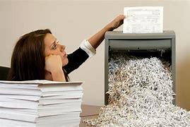 Image result for paper shredding