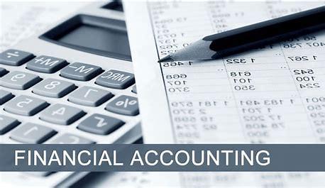 financial accounting calculator and balance sheet