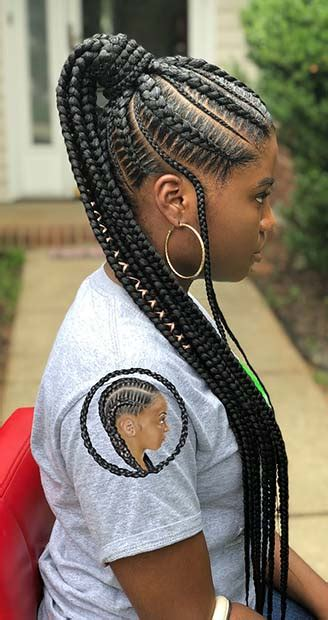 BEST BRAIDED PONYTAIL HAIRSTYLES FOR PAGE OF