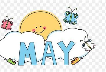 Image result for May Month Clip Art Free