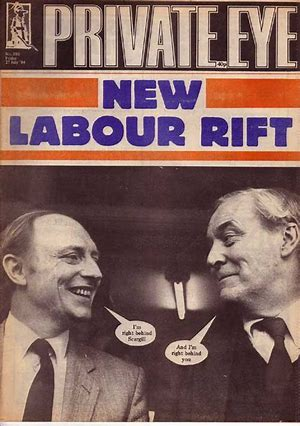Image result for private eye tony benn cartoon images