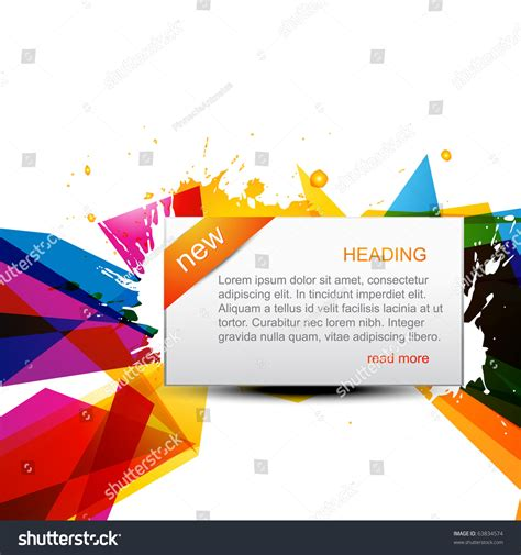 abstract new vector background design