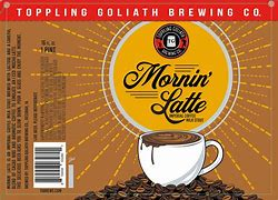 Image result for toppling goliath mornin latte