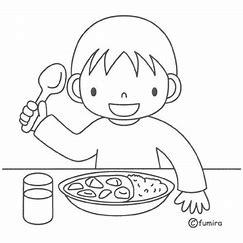 Risultato immagine per pranzare  da colorare