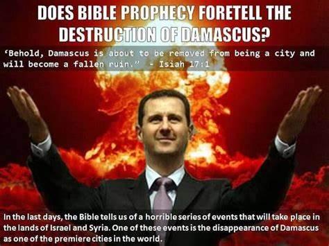 Assad v Sýrii skonči po voľbách 2021, Damacus prophecy