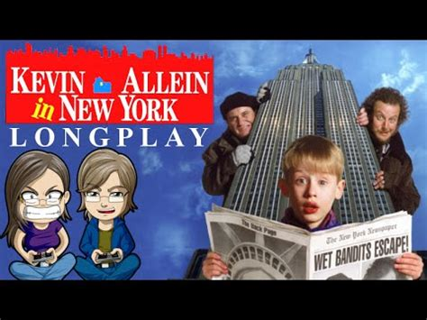 LET S PLAY KEVIN ALLEIN IN NEW YORK NES HOME ALONE