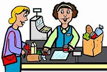 Image result for Grocery Store Check Out Clip Art