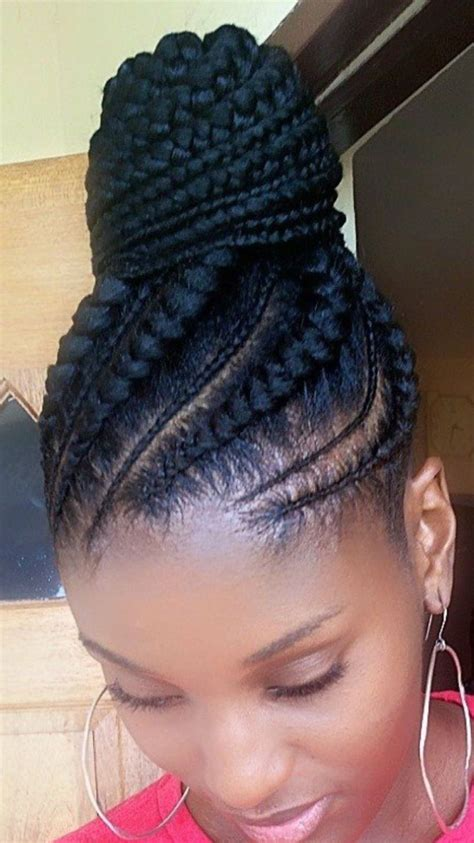 GRACEFUL LIFESTYLE AFRICAN PONYTAIL CORNROW
