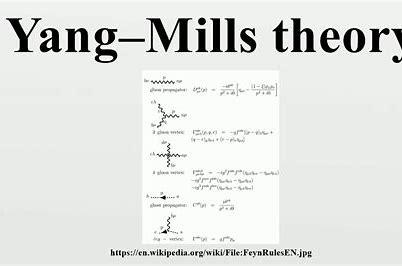 Resultado de imagen de La Teoría supersimétrica de c Yang-Mills