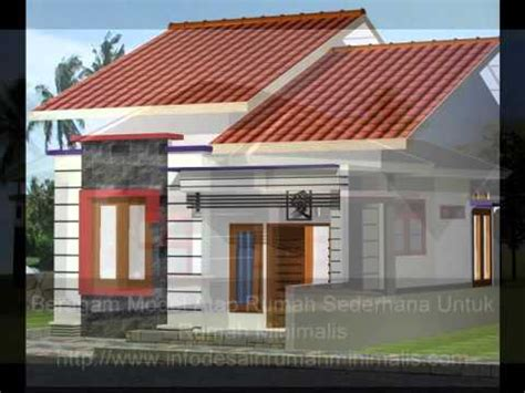 beragam model atap rumah sederhana buat rumah minimalis