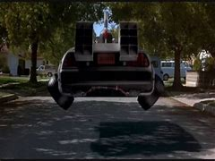 Image result for Back to the future hover car