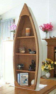 canoe bookcase canoeshelf diy home furniture canoe