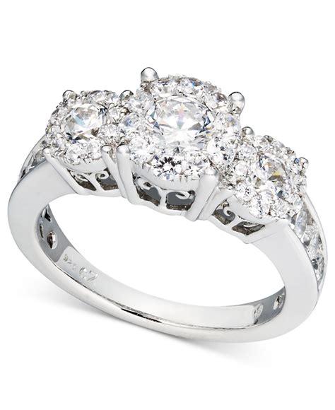 macy s diamond engagement ring and wedding band bridal set