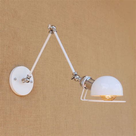 online get cheap modern swing arm wall lamp with led