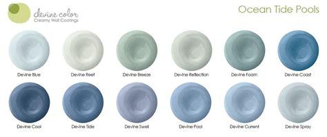 devine blue silk ocean tide pools collection devine