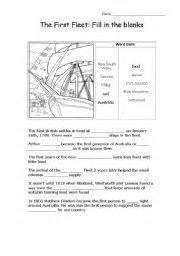 worksheet first fleet first fleet worksheets