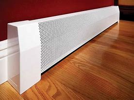 hot water or hydronic baseboard heating