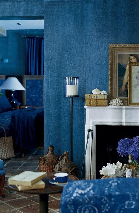 the deep woven texture of ralph lauren paint s indigo