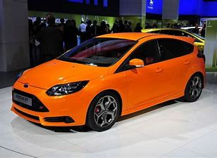 Orange Ford Focus ST best gift