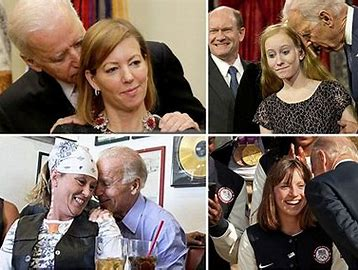 Image result for Joe Biden flirting with other women
