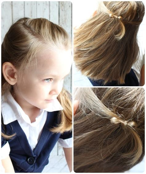 EASY LITTLE GIRLS HAIRSTYLES IDEAS YOU CAN DO IN