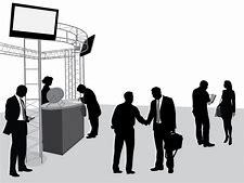 Image result for trade show salesmen