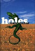 Image result for Yellow Spotted Lizard Holes Book Cover