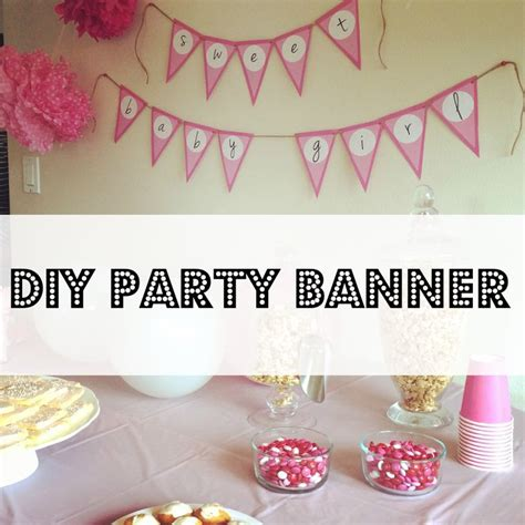 pin by swimming sideways blog on party diy party banner