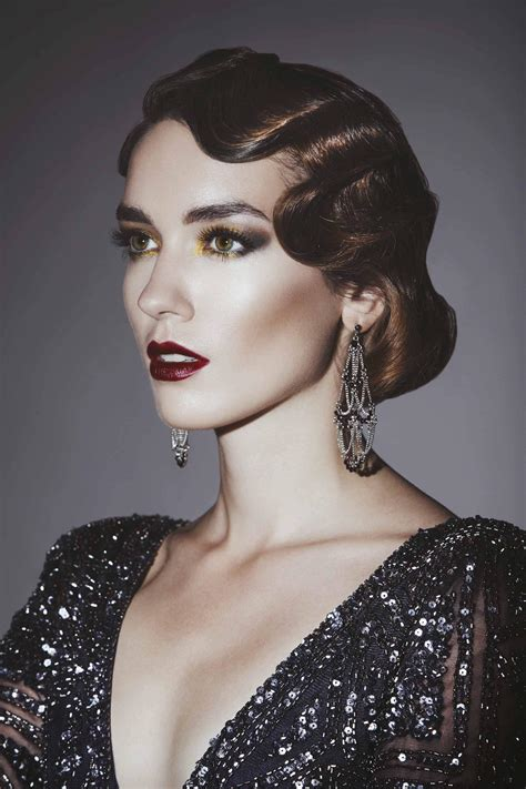 great gatsby inspired hair ideas for halloween and