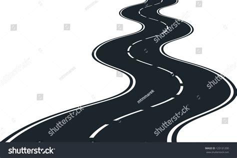 road curves stock vector illustration shutterstock