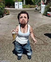 Image result for images ugly midgets