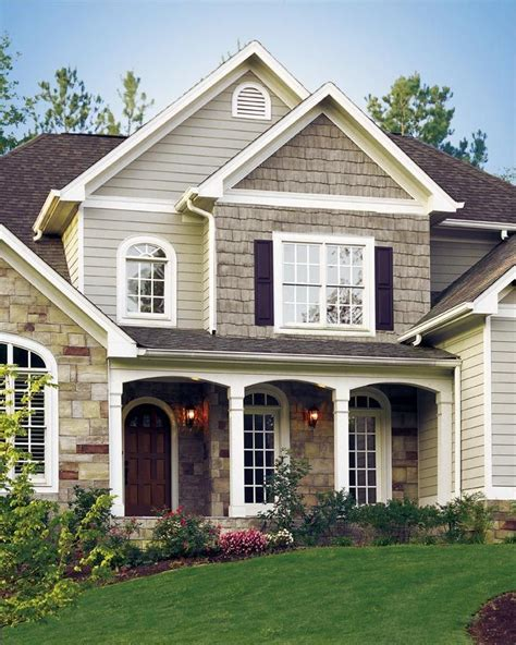 image result for houses with multiple colors of siding