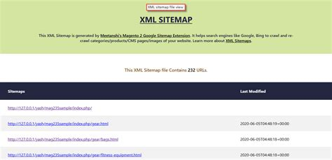 Magento 2 Google Sitemap - Generate XML and HTML Sitemaps