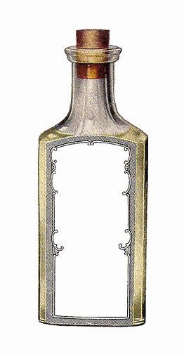 Image result for Clip Art Free Old Medicine Bottle