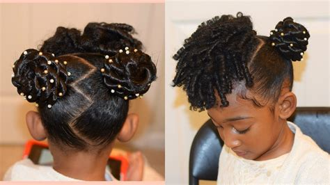 kids natural hairstyles the buns and curls easter