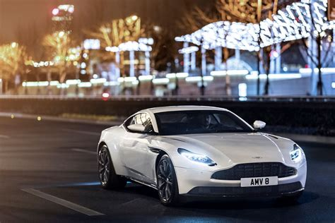 Hp Aston Martin Db With The Amg Tt V Released Cars